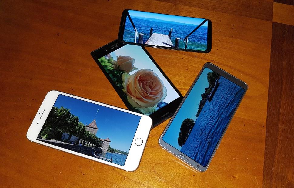Test photo: Sony Xperia XZ Premium vs LG G6 vs Samsung Galaxy S8 vs Apple iPhone 7 Plus.