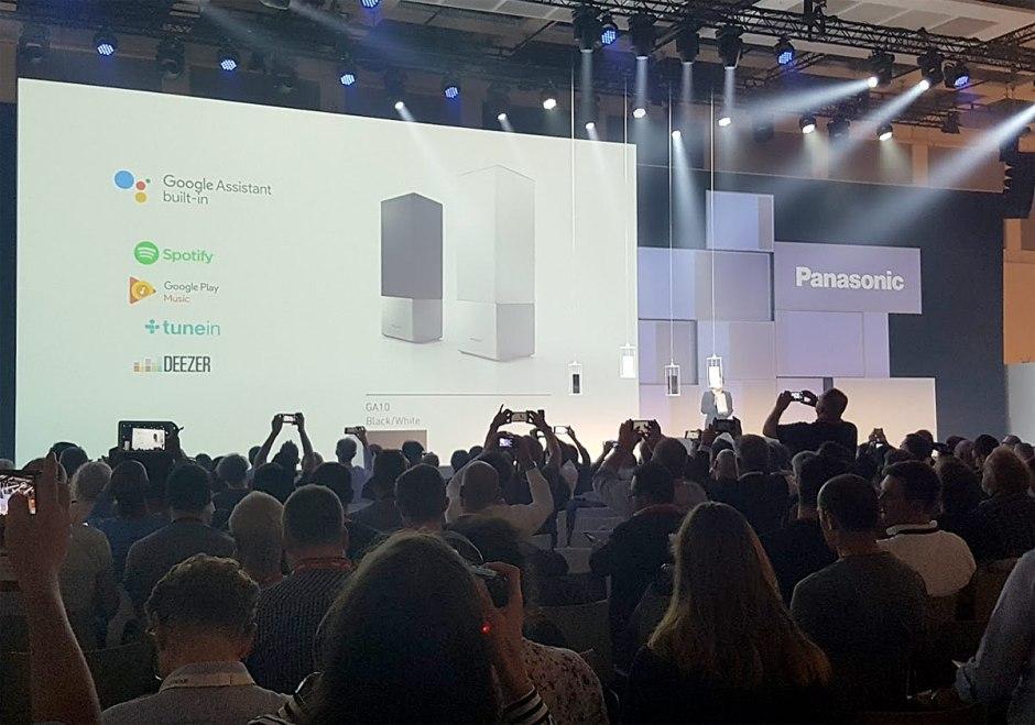 Le GA 10 combine le savoir technique de Panasonic en matière d'Audio avec l'assistant vocal de Google .