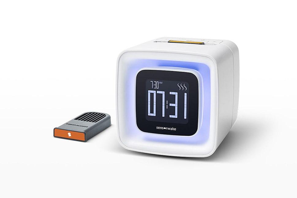 Sensorwake: le réveil qui vous mettra de bonne humeur en diffusant le parfum d'un café chaud...Sensorwake: le réveil qui vous mettra de bonne humeur en diffusant le parfum d'un café chaud...