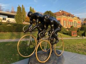Peloton cycliste: Apple iPhone X.