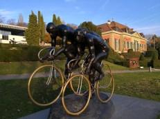 Peloton cycliste: Huawei Mate 10 Pro.