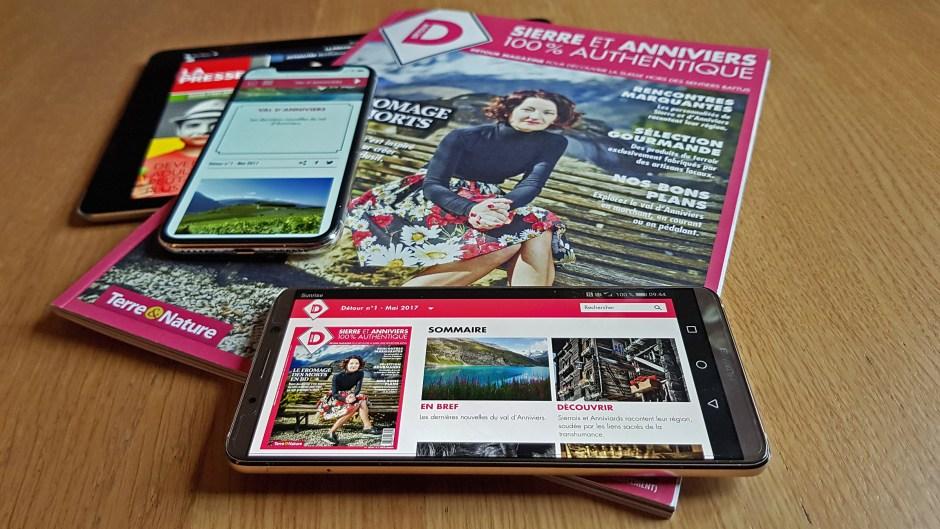 Le magazine Détour de Terre et Nature est boosté par Magnum 3.0.