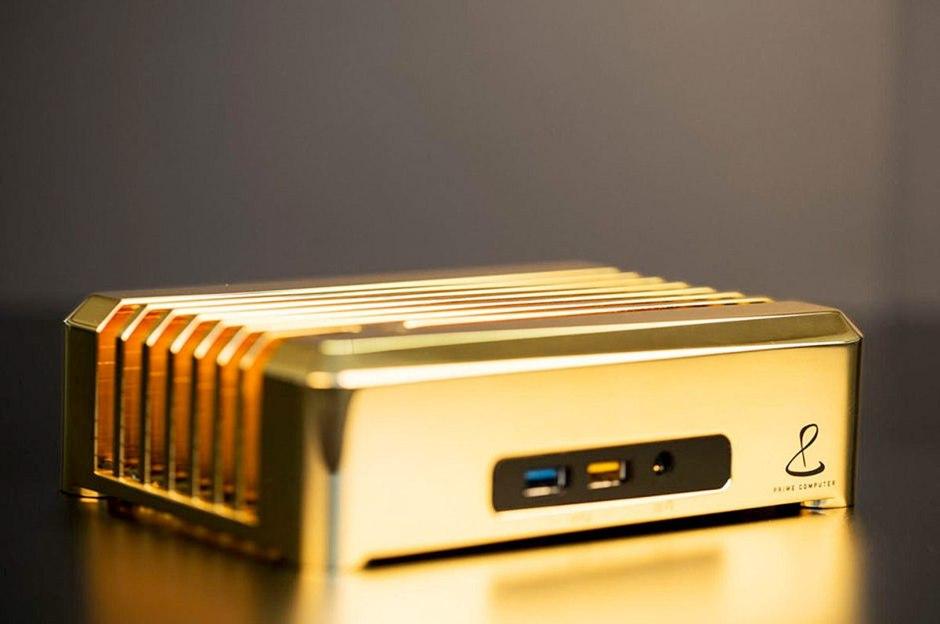Digitec propose depuis deux mois un PC en or à un million de francs.