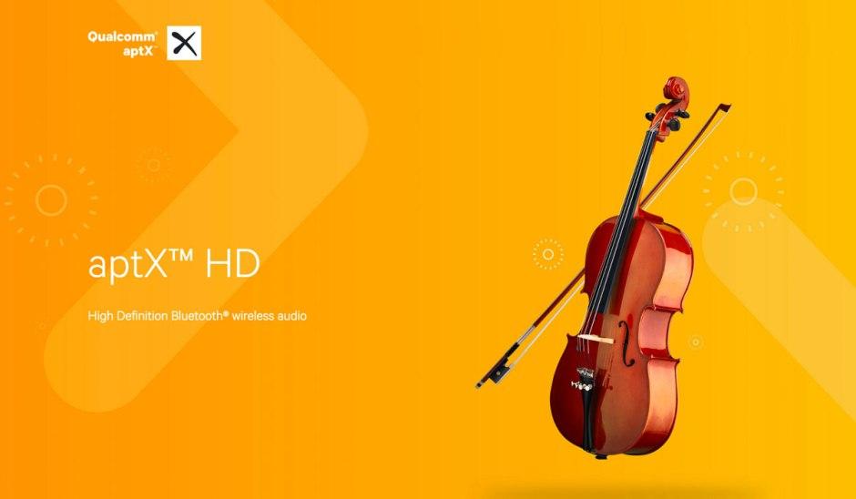 Le codec aptX HD pour de la musique sans fil de de qualité en bluetooth.