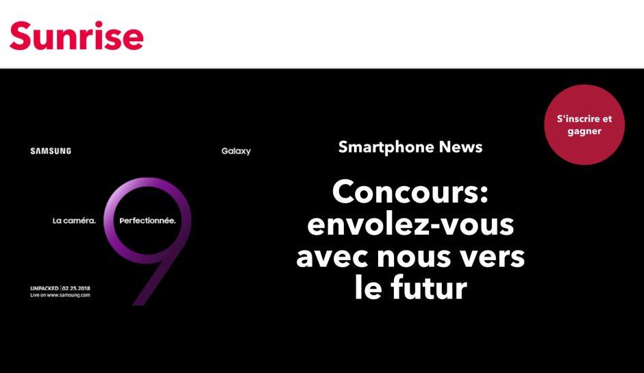 Galaxy S9: Samsung fait le buzz en Suisse avec Sunrise.