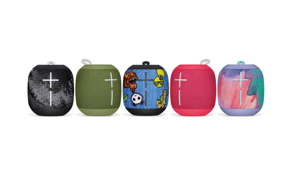 La collection Ultimate Ears Wonderboom Freestyle de Logitech.
