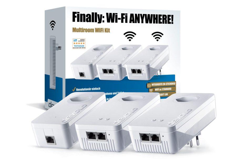 Devolo Multiroom Wi-Fi Kit 1200+ Wi-Fi ac.