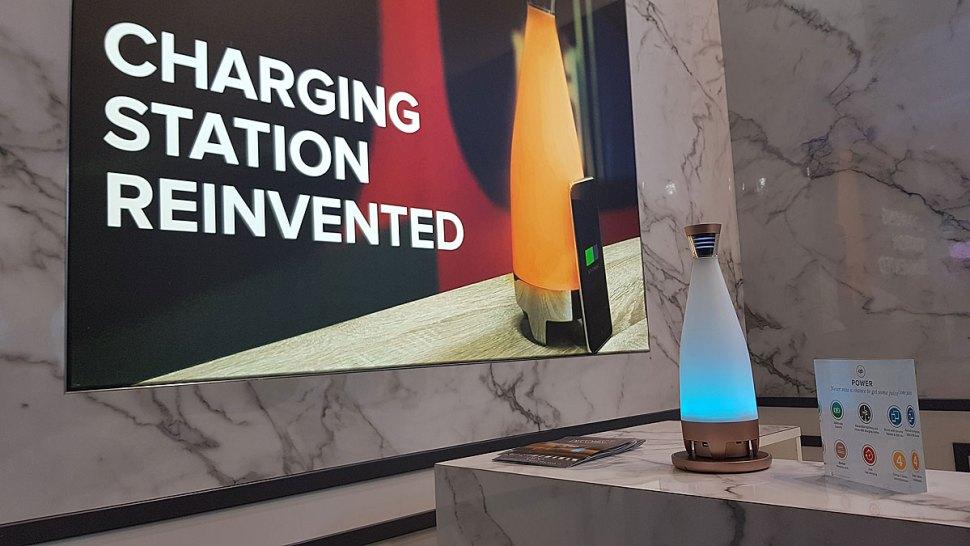 Deconnect: une solution de recharge pour smartphones 100% sans fil grâce à la norme Qi.