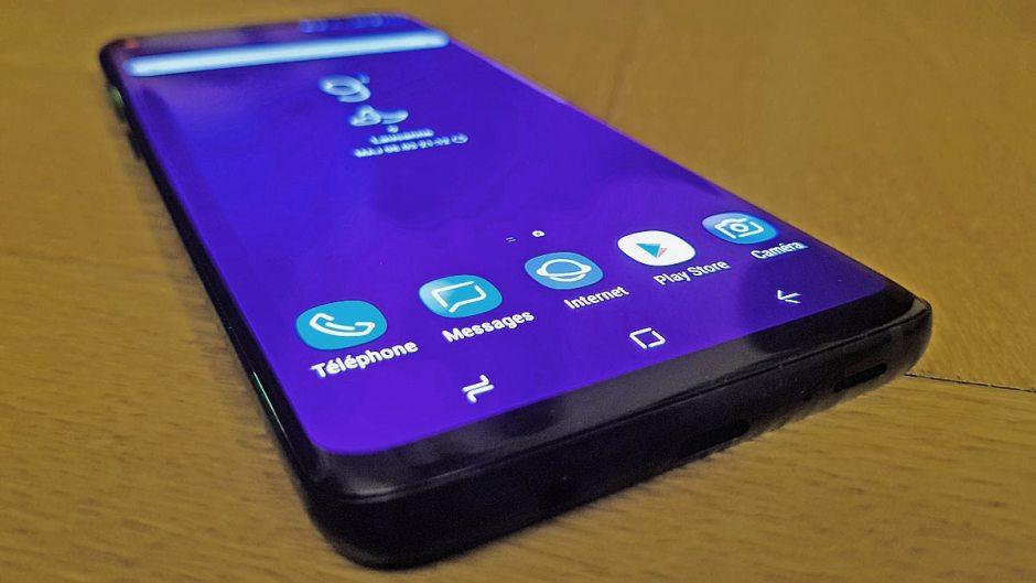 Samsung Galaxy S9: un début de test prometteur...