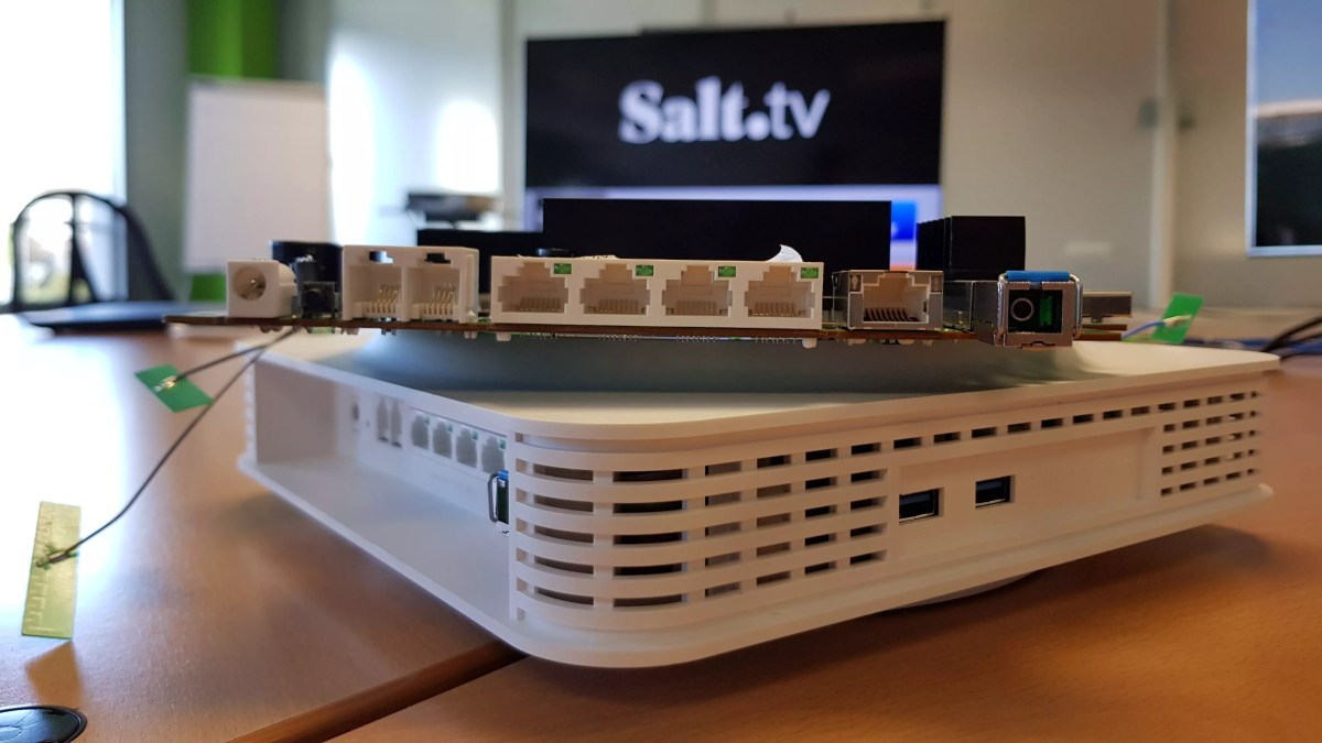 Salt pionnier du 10 gigabit.