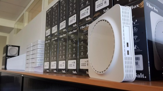 Le routeur Salt Fiber Box.