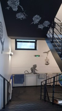 L'Ecole 42 est aussi un musée dédié au street art.