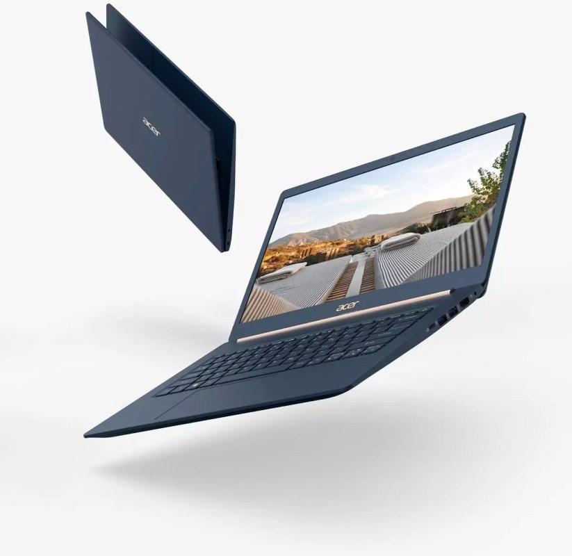 Le boîtier de l'Acer Swift 5 est taillé dans un alliage de magnésium.