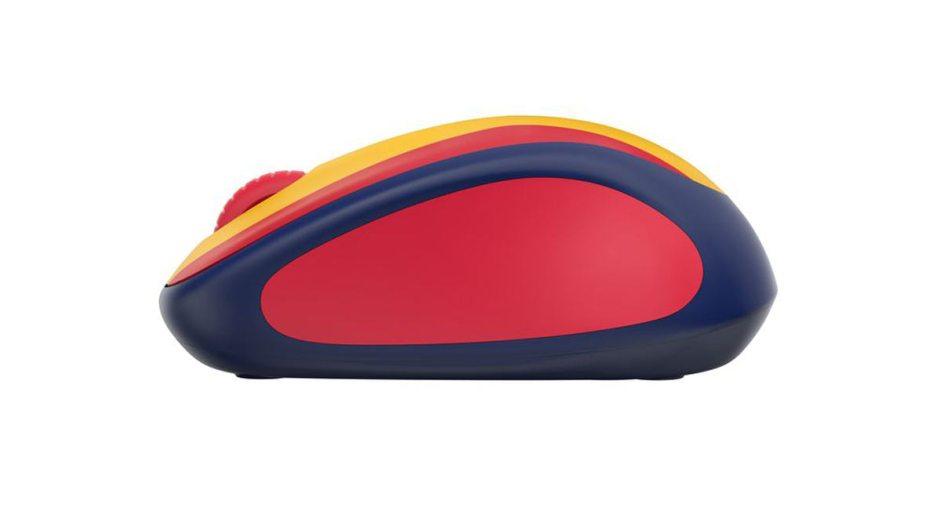 Les souris Fan Collection de Logitech peuvent être utilisées jusqu'à 12 mois avec une pile.