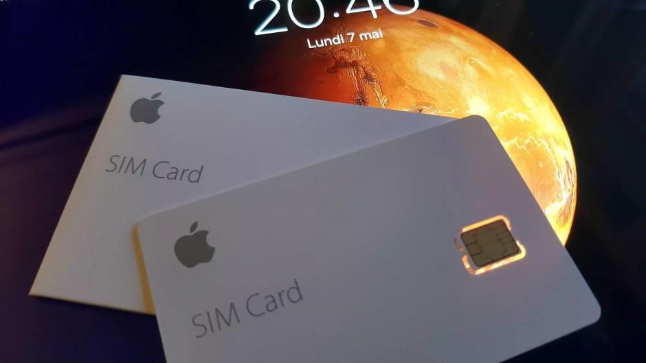 Une Apple SIM bien capricieuse vnedue 5 francs en Suisse.