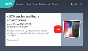 Yallo casse les prix et propose l'iPhone X le moins cher de Suisse à 529 francs!