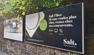 Fibre optique: Salt continue de défier le marché: Swisscom persifle!