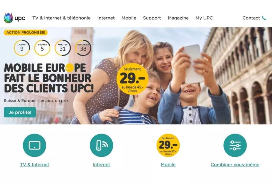 UPC veut d'abord garder ses clients et Salt en gagner.