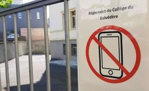 Smartphones: à l'ère de la prohibition lausannoise, le dynamisme de Barcelone…