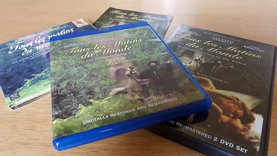 """Le parcours du combattant pour visionner dans de bonnes conditions le Blu-ray de """"Tous les matins du monde"""" d'Alain Corneau."""