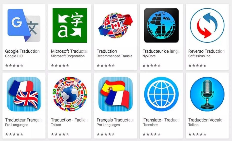 Google , Microsoft et bien d'autres sont actifs sur le marché de la traduction.