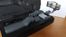 Dji Osmo Mobile 2: un boîtier pour protéger la nacelle.