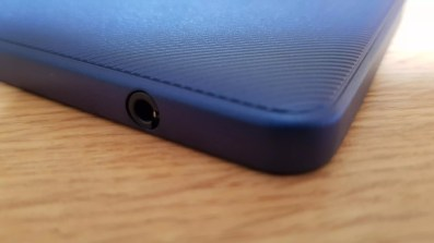 Le port mini-jack de l'Acer Chromebook Tab.