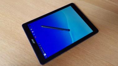 Le bel écran de l'Acer Chromebook Tab.