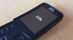 Nokia 8110 4G sous KaiOS.