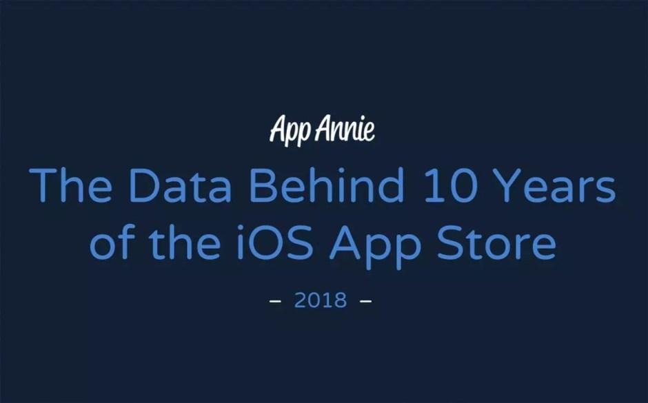 Les données derrières dix ans d'App Store, selon App Annie.
