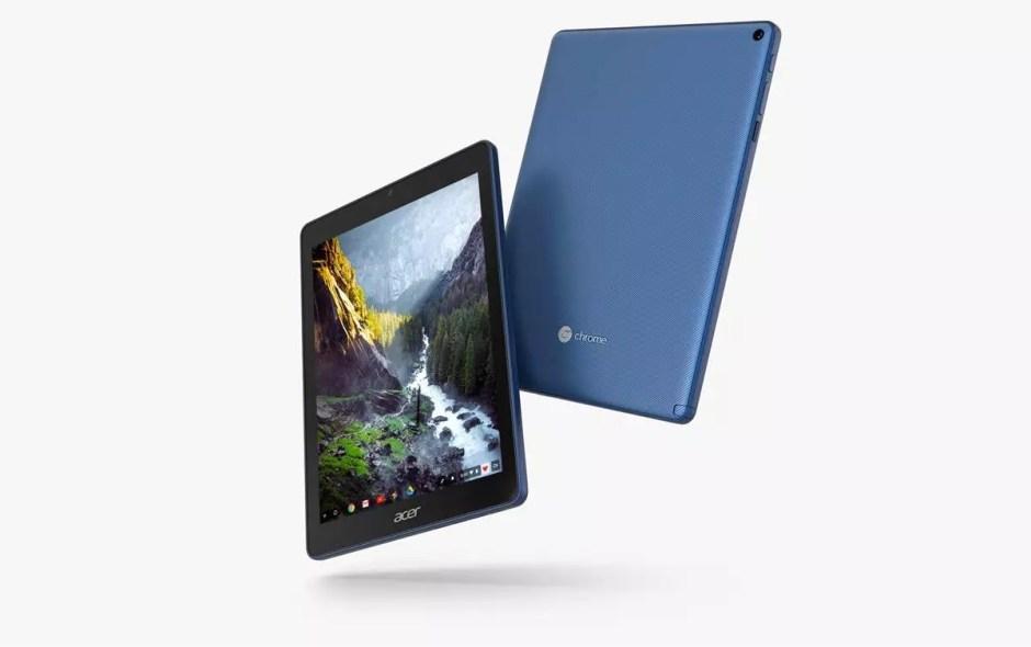 L'Acer Chromebook Tab sous ChromeOS.