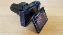Les menus du Sony RX100 VI sont riches et clairs.