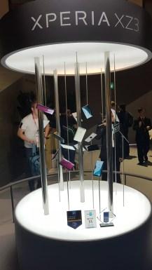 IFA 2018 de Berlin: le Sony Xperia XZ3.