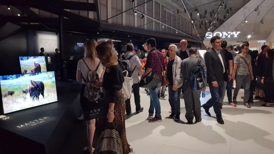 Sony a présenté ses Master series à l'IFA 2018 de Berlin.