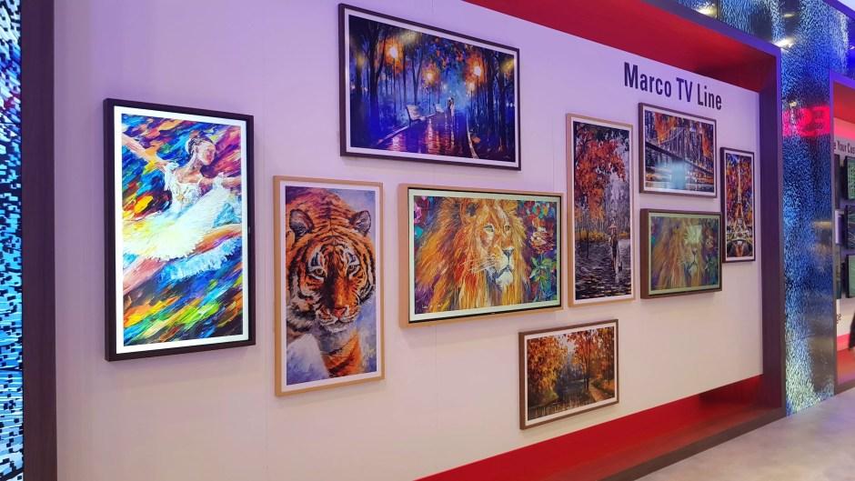 IFA 2018 de Berlin: Vestel et sa galerie de tableaux-écrans.