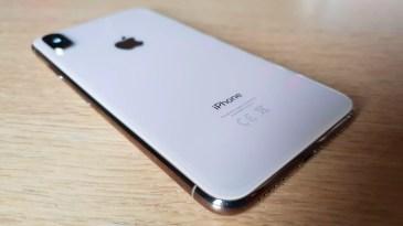 Le dos de l'iPhone Xs Max.