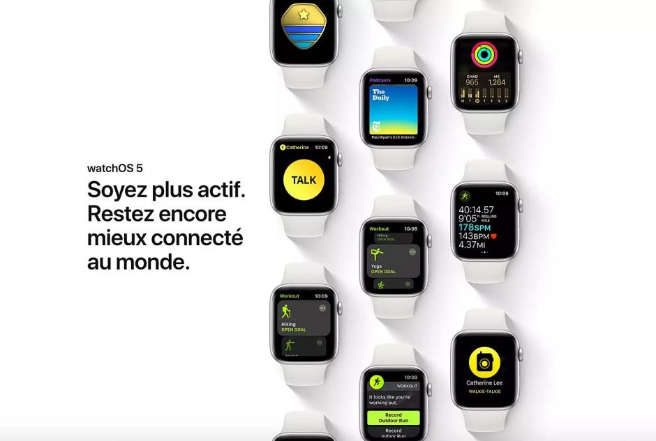 Avec WatchOS 5, Apple élève l'horlogerie logicielle et l'horlogerie tout court à un niveau jamais atteint!