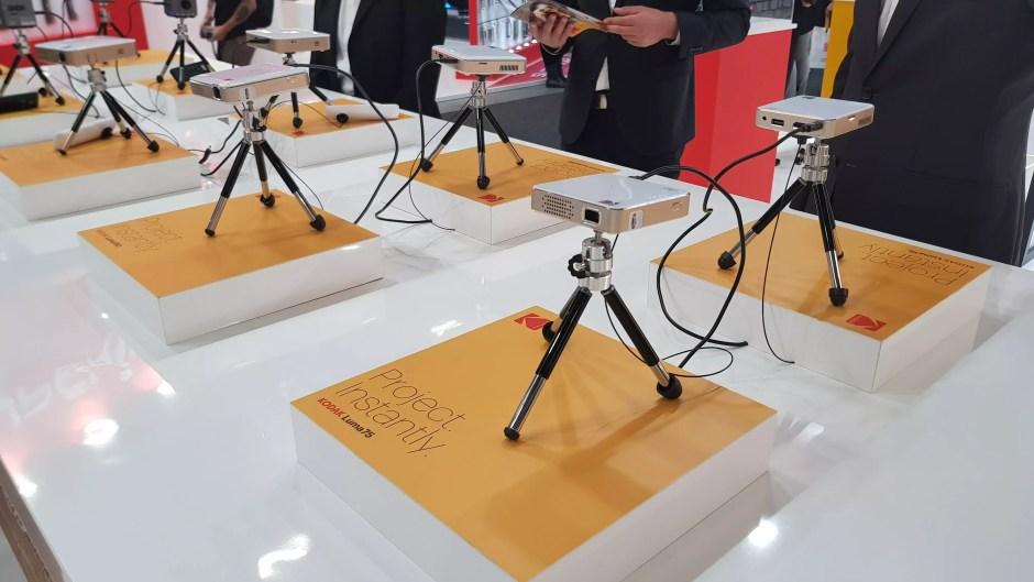 Les micro-projecteurs de Kodak.