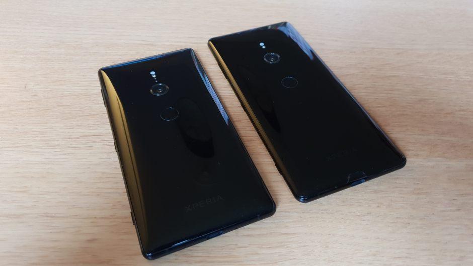 Le Sony Xperia XZ3 est légèrement plus grand que le XZ2.