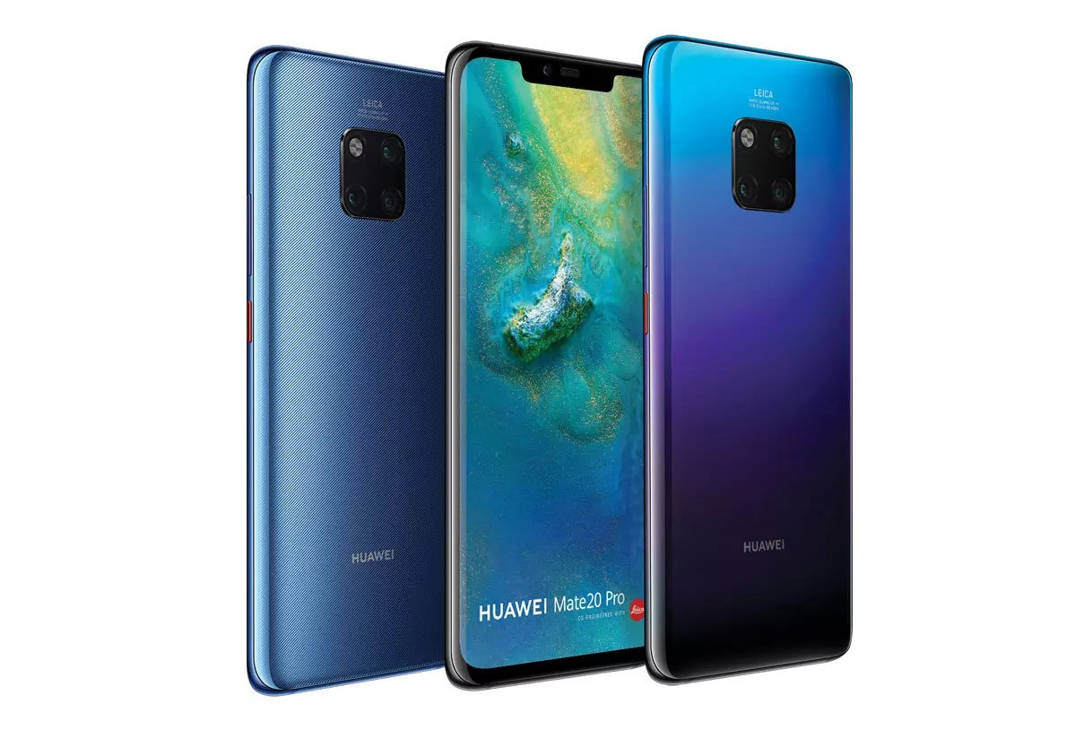 Le Huawei Mate 20 Pro arrivera en décembre en Suisse dès 999 francs.