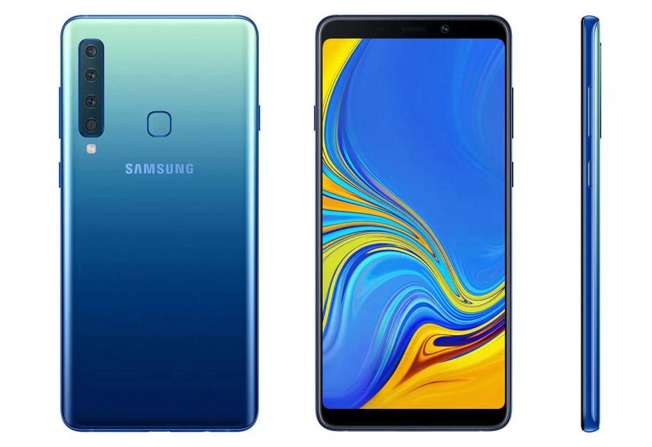 Et de quatre objectifs pour le Samsung Galaxy A9. Qui dit mieux?