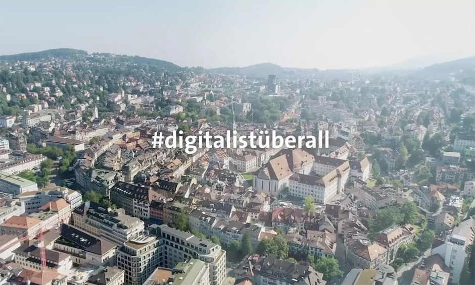 Digital ist überall, dixit Swisscom.