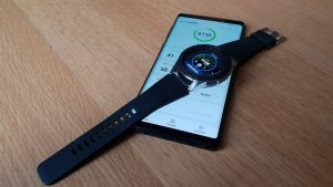 La Samsung Galaxy Watch LTE avec le Note 9.