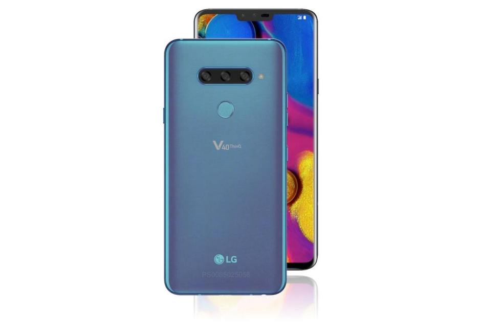 Le LG V40 Thinq «Penta Camera»!