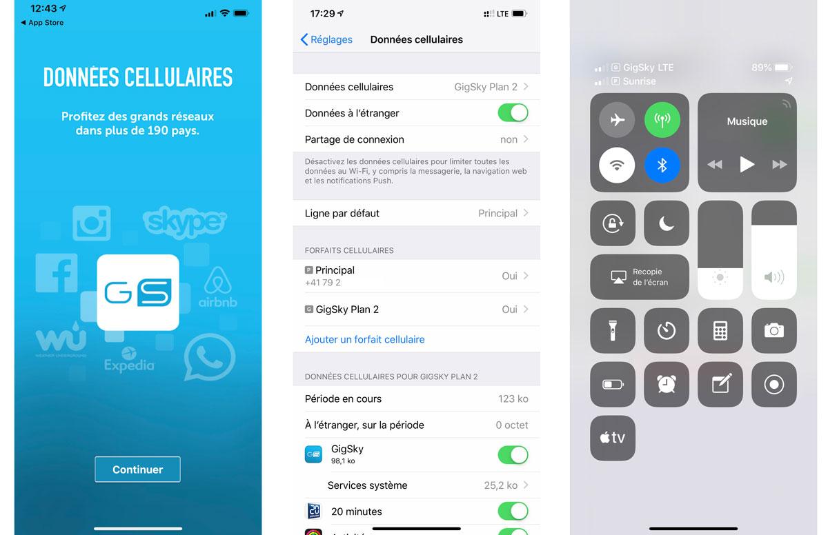 Acheter et activer une eSIM sur l'iPhone Xs? Cinq minutes chrono!