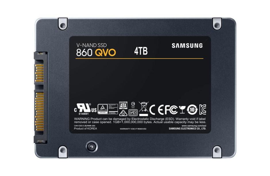 Avec sa série EVO 860 QVO, Samsung «réinvente» le SSD.