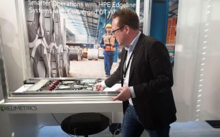 Hewlett Packard Enterprise (HPE) à Meyrin, Genève.