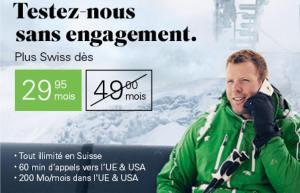 Illimité en Suisse: Salt propose de le tester dès 29.- sans durée minimale!