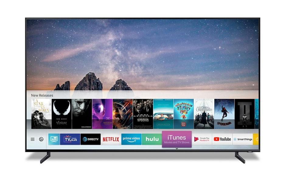 Samsung va proposer iTunes Movies et AirPlay 2 sur ses TV.