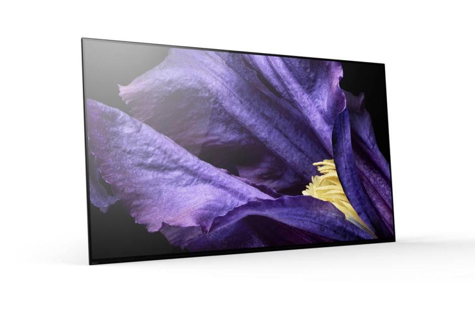 Le Sony Bravia Master Series AF9 OLED.